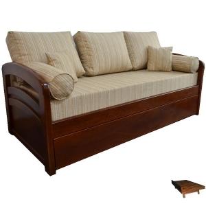 Cama marinera sofá mod. Maja doble curva (C347)
