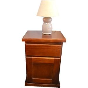 Mesa de luz cajón y puerta (C412)