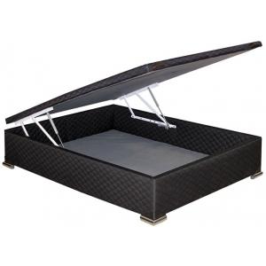 Box Baulera TELA NEGRA 140 x 190